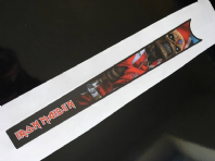 Iron Maiden Top Tube Graphic
